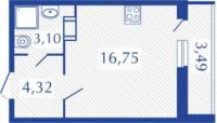 Квартиры-Студии в «Виктория»