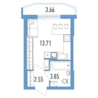 Квартиры-Студии в «Yoga»