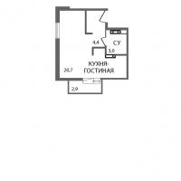 Квартиры-Студии в «ЗемлЯнино»