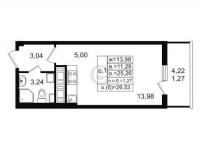 Квартиры-Студии в «ЗимаЛето»